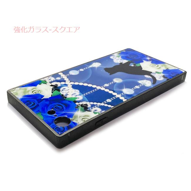 【ルナティックキャットイズム】[猫のスマホケース]Roses cat-Blue 薔薇と黒猫-青薔薇の宝石箱[iPhone/Android]item_image_12