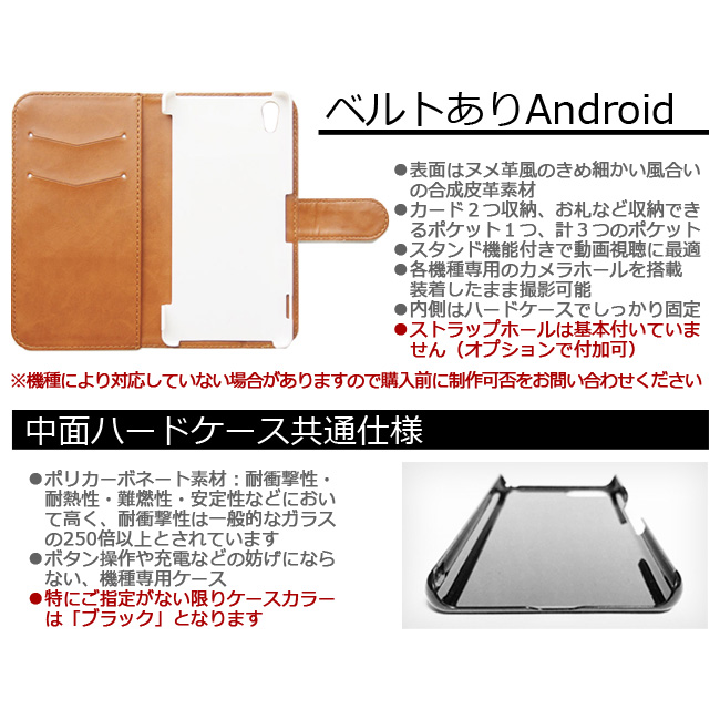 【ルナティックキャットイズム】[手帳型スマホケース]血飛沫と黒猫-SCREAM-CAT[iPhone/Android]item_image_4