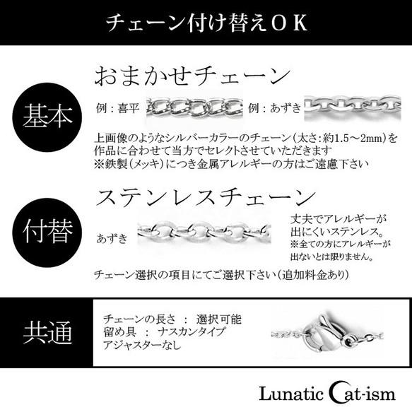 【ルナティックキャットイズム】月とフェアリー&十字架のゴシックペンダントitem_image_5